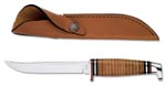 Case #381 (316-5 SS) Leather Hunter Knife