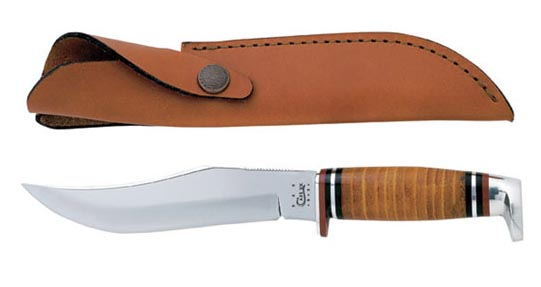 Case #386 (381-6 SS) Leather Hunter Knife