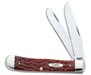 Case #7011 (6254 CV) Chestnut Bone CV Trapper Knife
