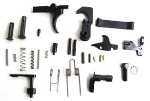 Anderson MFG AR15 Lower Parts Kit no Pistol Grip