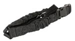 AIMSports One Point Bungee Rifle Sling - BLACK