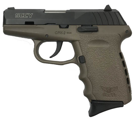 SCCY Industries CPX-2 9mm Pistol - Dark Earth - USED