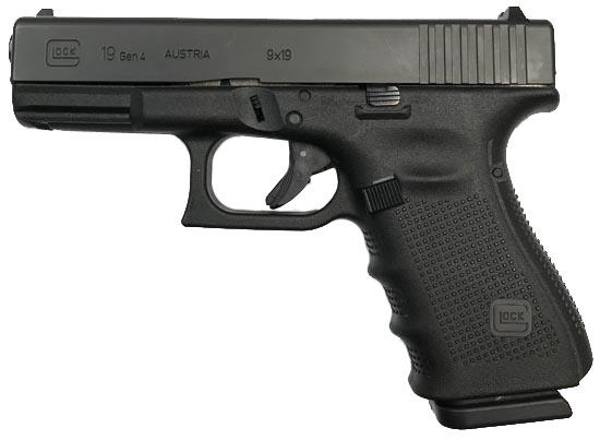 GLOCK 19 Gen4 9mm Pistol - USED