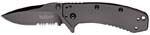 Kershaw 1555BLKST Cryo Serrated