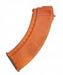 TAPCO MAG0632O AK-47 7.62x39 Smooth Side 30 Rnd Magazine - ORANGE