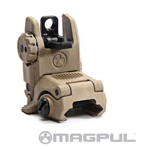 Magpul MBUS Back-Up Sight  Rear GEN 2  FDE