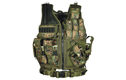 UTG (PVC-V547ET) 547 Law Enforcement Tactical Vest - Woodland Digital