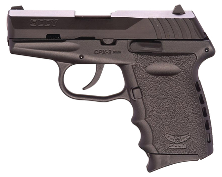 SCCY Industries CPX-2 9mm Pistol - Carbon Black - NEW