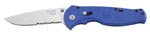 SOG (BFSA-98) Flash II 3.5 Serrated Knife - Blue