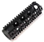 YHM YHM-9631 Carbine Length Lightweight Free Float 4 Rail AR15 Forearm