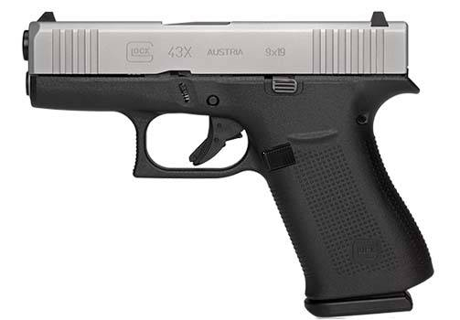 GLOCK 43X 9mm Pistol - NEW