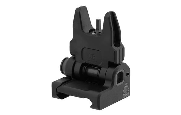 UTG ACCU-SYNC Spring-loaded AR15 Flip-up Front Sight, Black