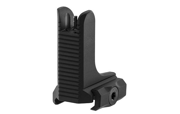 UTG AR15 Super Slim Fixed High Profile Front Sight, Black