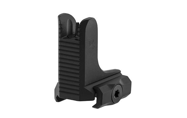 UTG AR15 Super Slim Fixed Low Profile Front Sight, Black
