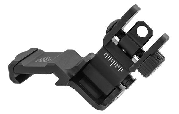UTG ACCU-SYNC 45 Degree Angle Flip Up Rear Sight