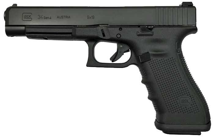 GLOCK 34 Gen4 9mm Pistol - USED