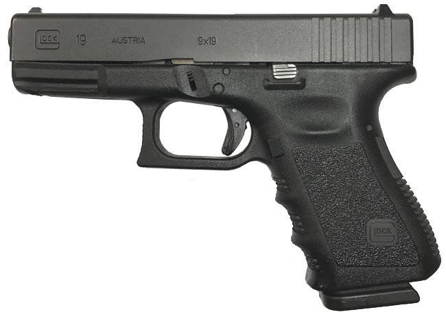 GLOCK 19 9mm Pistol - USED