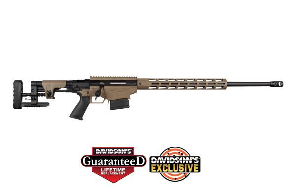 Ruger Precision Rifle 65 Creedmoor Barrett Brown - NEW