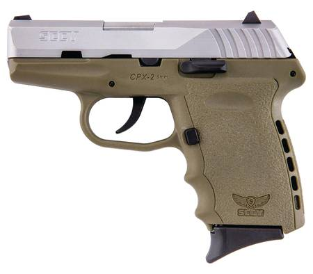 SCCY Industries CPX-2 9mm Pistol - FDE - NEW