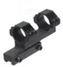 "Accushot Airgun 1"" Bi-directional Offset Optimum Profile Mount"
