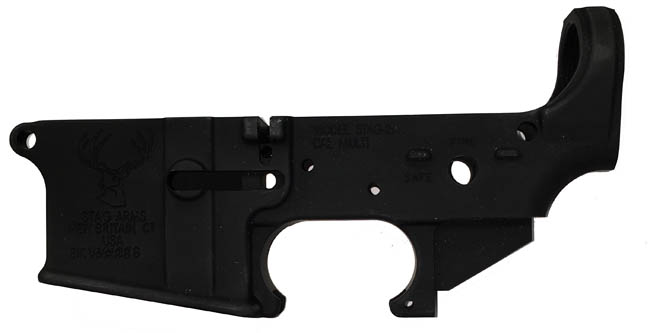STAG Multi-Caliber Stripped Lower Forged Aluminum