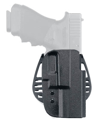 Uncle Mikes Kydex Paddle Holsters Size 21 Glock 17 22 19 23 Black RH